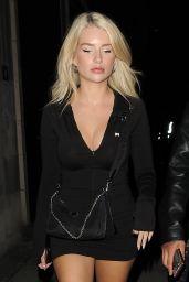 Lottie Moss Night Out Style - Soho House in London 09/02/2020