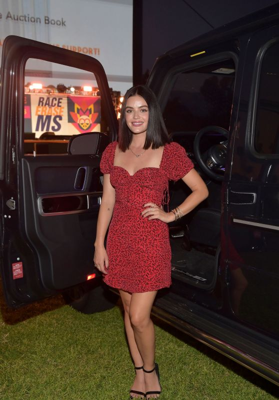 Lucy Hale – 2020 Race to Erase MS Drive-In Event in Pasadena