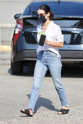 Lucy Hale - Alfred Coffee in Studio City 09/26/2020