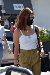 Lucy Hale Displays New Hair Color - Sweet Butter in Sherman Oaks 09/28/2020