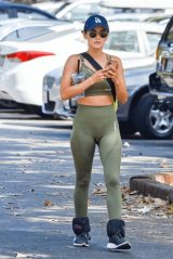 Lucy Hale - Hike in Studio City 09/21/2020