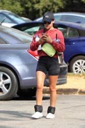 Lucy Hale - Hiking in the Hollywood Hills in LA 09/07/2020