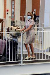 Ludivine Sagnier - Arriving at Venice Airport 09/01/2020