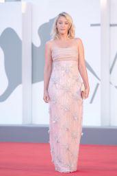 "Ludivine Sagnier - ""The World To Come"" Red Carpet at The 77th Venice Film Festival"