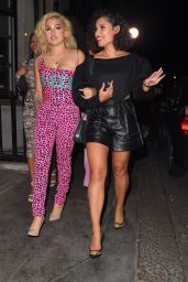 Mabel and Raye - Leaving Bagatelle and Arriving at Cirque in London 09/18/2020