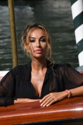Madalina Ghenea – Arriving at Hotel Excelsior in Venice 09/05/2020
