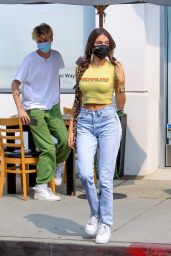 Madison Beer at Toast in West Hollywood 09/15/2020