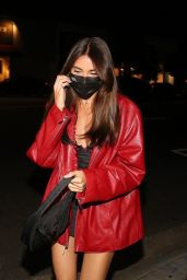 Madison Beer NightOut Style - Arrives at 40 Love in West Hollywood 09/09/2020