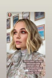 Madison Iseman - Zoom Panel for Clouds September 2020
