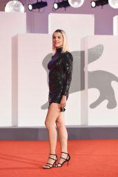 "Maggie Civantos – ""The World To Come"" Red Carpet at The 77th Venice Film Festival"