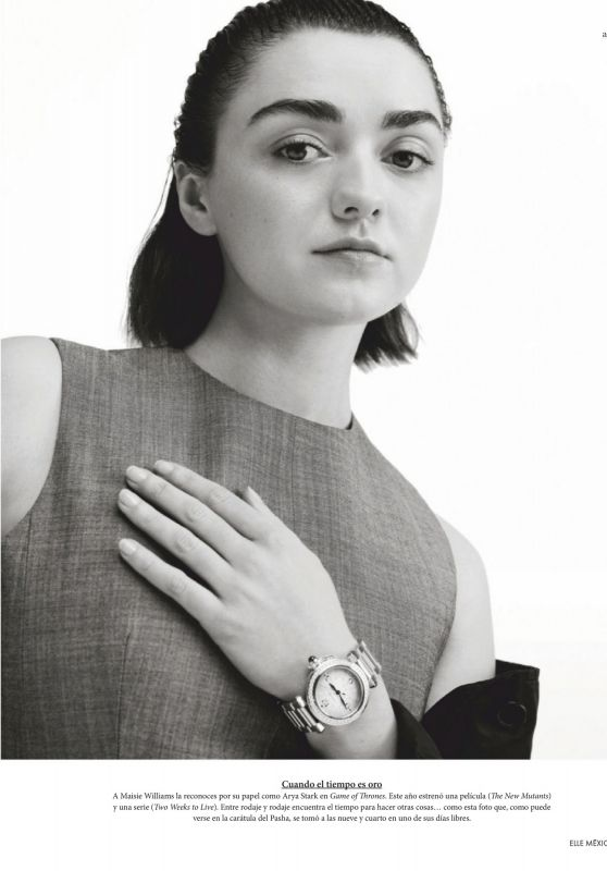 Maisie Williams - Cartier Promoting Pasha Watch Campaign 2020 (+4)