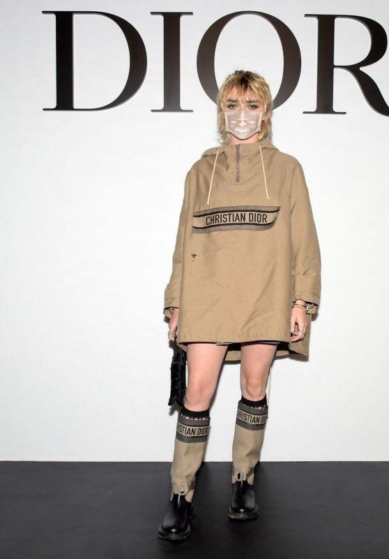Maisie Williams - Dior SS21 Show in Paris
