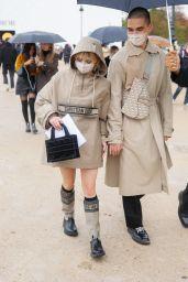 Maisie Williams - Leaving the Dior Fashion Show in Paris 09/29/2020