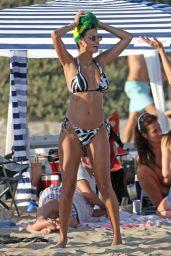 Marcela Braga in a Bikini - Beach in Santa Monica 09/05/2020