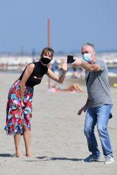 Maya Hawke at the Beach in Venice, Italy 09/05/2020