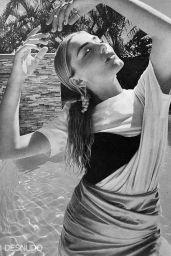 Meg Donnelly - Desnudo Italy Autumn 2020