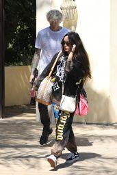 Megan Fox and Machine Gun Kelly - Leaving a House in LA 09/25/2020