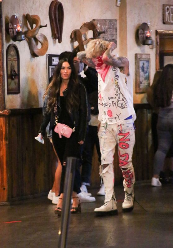 Megan Fox - Out in Saddle Ranch in West Hollywood 09/24/2020