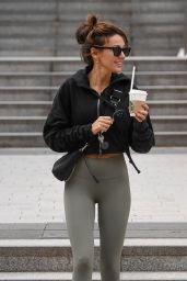 Michelle Keegan - Arriving at Gym in Manchester 09/04/2020