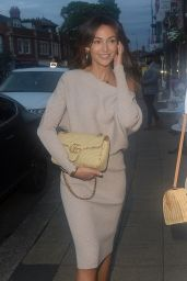 Michelle Keegan Night Out Style - Sigiriya Restaurant in Cheshire 09/12/2020
