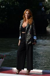 Milena Miconi – Arriving at Hotel Excelsior in Venice 09/04/2020