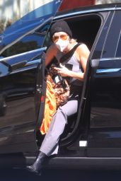 Miley Cyrus - Leaving the Hair Salon in LA 09/22/2020