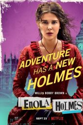 "Millie Bobby Brown - ""Enola Holmes"" Posters and Phots"