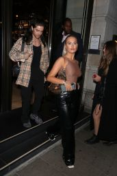 Molly-Mae Hague Night Out Style - Novikov Mayfair in London 09/22/2020
