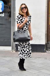 Myleene Klass in Polka Dot Dress - London 09/09/2020