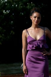 Nathalie Emmanuel - Arriving at the Excelsior in Venice, Italy 09/06/2020