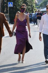 Nathalie Emmanuel at the Excelsior Hotel in Venice 09/06/2020