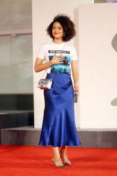 "Nathalie Emmanuel - ""Revenge Room"" Red Carpet at the 77th Venice Film Festival"