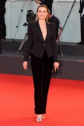 "Nathalie Rapti Gomez – ""Padrenostro "" Premiere at the 77th Venice Film Festival"