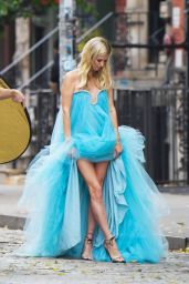 Nicky Hilton - Photoshoot on the Streets in New York 09/29/2020