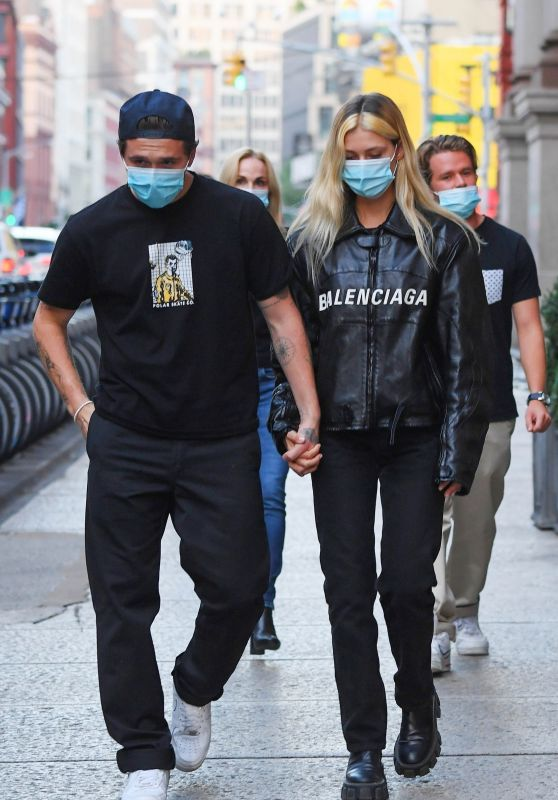 Nicola Peltz and Brooklyn Beckham Stroll Hand-in-Hand in NYC 09/21/2020