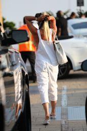 Nicollette Sheridan in Casual Outfit - Nobu in Malibu 09/06/2020