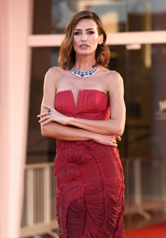 "Nieves Alvarez – ""Padrenostro "" Premiere at the 77th Venice Film Festival"