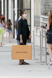 Nina Dobrev - Louis Vuitton Store in Beverly Hills 09/07/2020