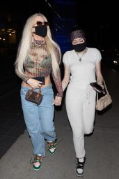 Noah Cyrus and Tana Mongeau - BOA in West Hollywood 09/27/2020
