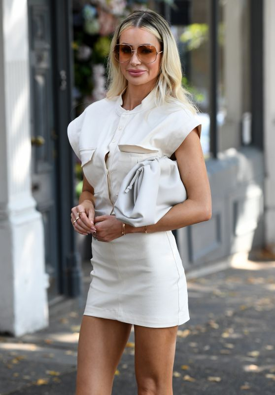 Olivia Attwood - Out in London 09/15/2020