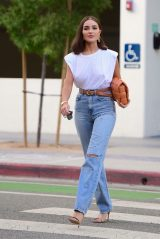 Olivia Culpo - Heads to Dinner in Santa Monica 09/19/2020
