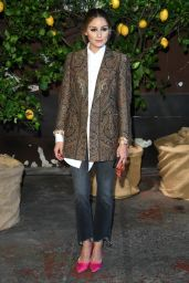 Olivia Palermo - Arriving at the Etro Fashion Show at the Milan Women