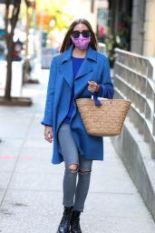 Olivia Palermo Street Style - New York City 09/21/2020