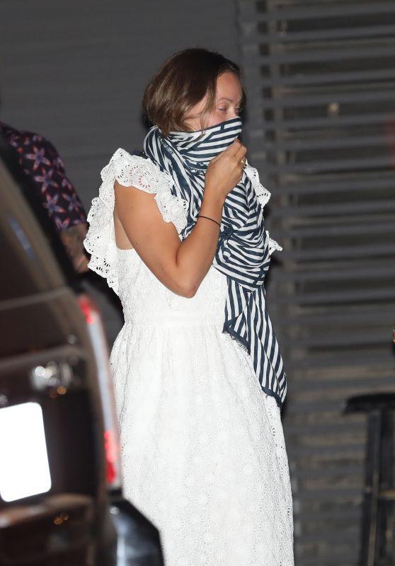 Olivia Wilde at Nobu Malibu 09/06/2020