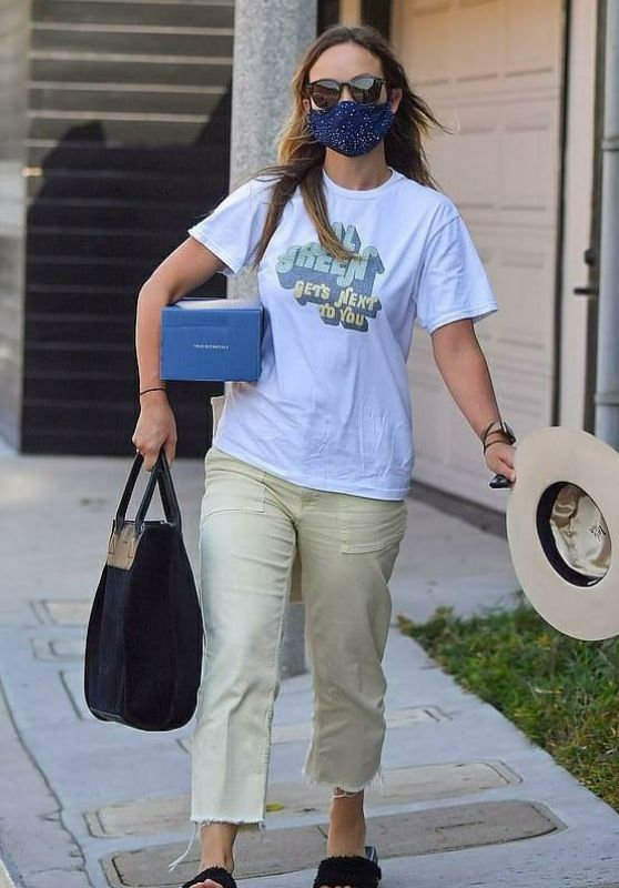 Olivia Wilde - Out in Beverly Hills 09/23/2020