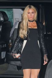 Paris Hilton - Arriving to Dinner in Malibu 09/26/2020