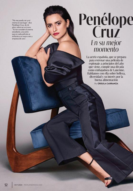 Penélope Cruz - People en Españo October 2020 Issue