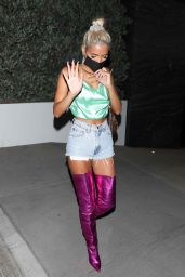 Pia Mia - Leaving a Party in Hollywood 09/23/2020