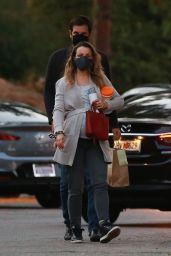 Rachel McAdams at Local Park in Los Angeles 09/23/2020