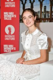 Raffey Cassidy at the Excelsior Hotel in Venice, Italy 09/07/2020